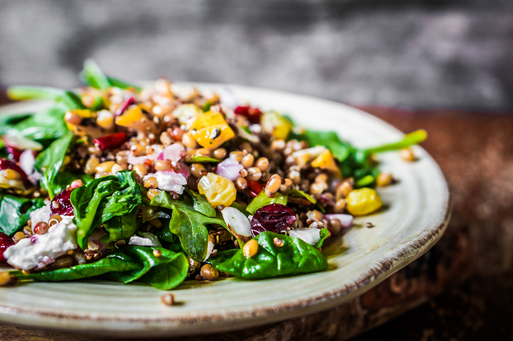 Ruthie's Spinach Salad