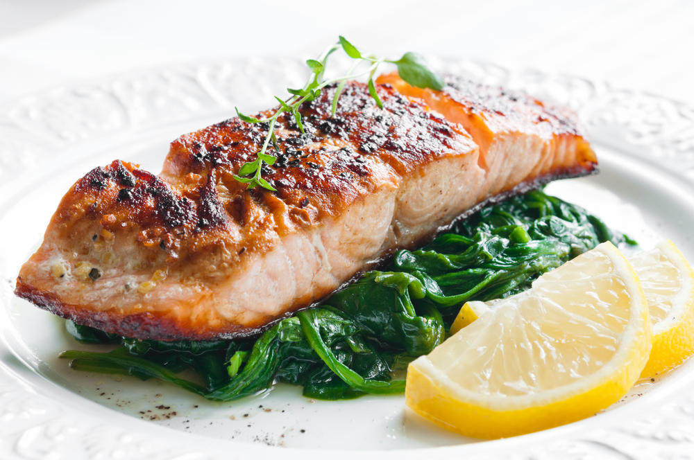 Roasted Salmon with Lemon, Soy and Honey